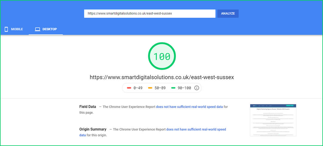 Website digital marketing agency and SEO for East and West Sussex